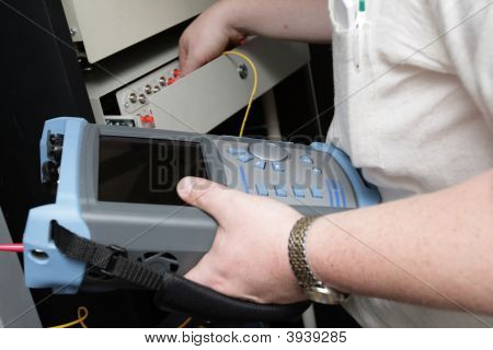 Maintenance Of Fiber-Optic Link