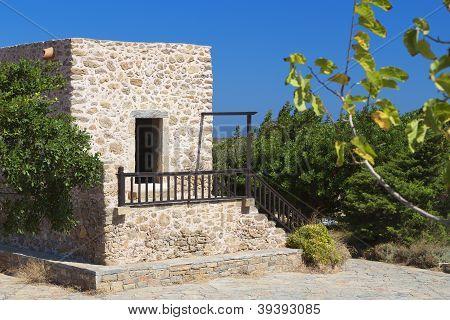 Toplou monastery at Crete island, Greece