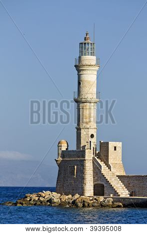 Old lighthouse of Hania city, Crete