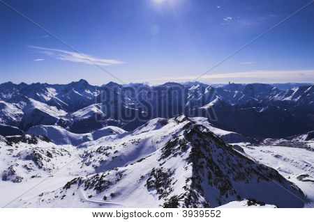 Ski Vacation In Alpes