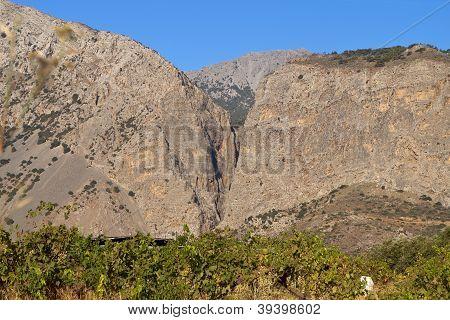 Xa gorge at Crete island in Greece