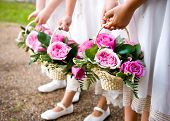 foto of flower girl  - Flower girls taken at wedding during August 2008
