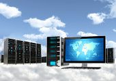Cloud-Computing-Server-Konzept