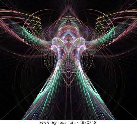 Angelic Flowing Abstract
