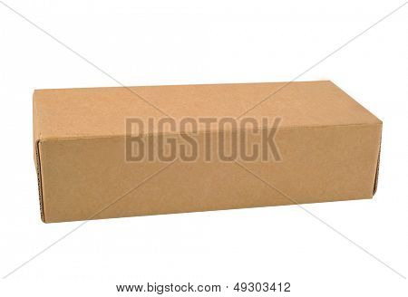 A Carton with white background