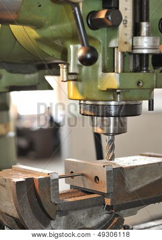 An industrial background Machine, mechanism