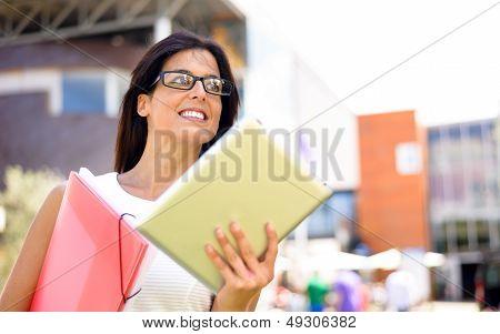 Modern Dynamic Business Woman