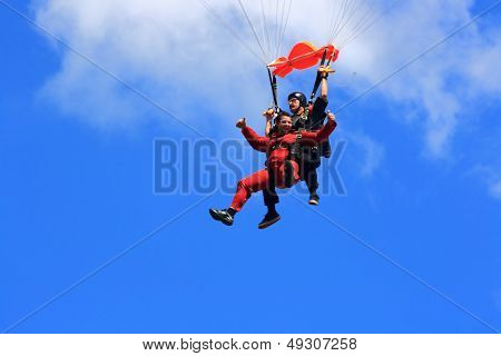 Joy Of First Parachute Jump
