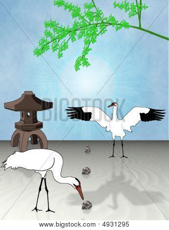 Crane Stationary