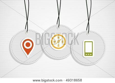 Hanging Gps Badges