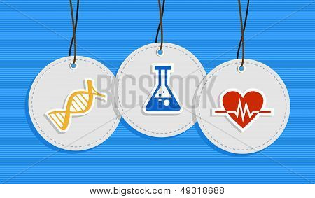 Hanging Medical Care Badges