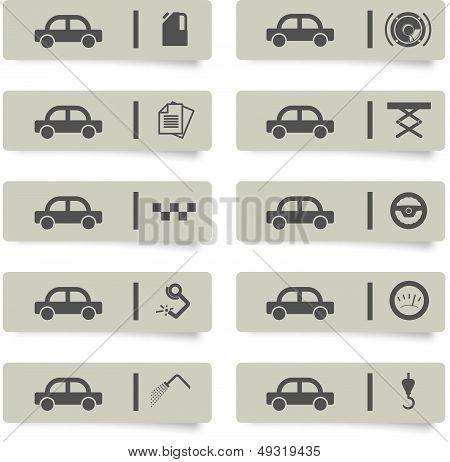 Auto Service Stickers