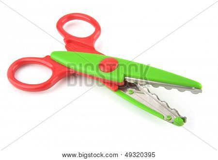 Stationery - Wavy Scissors