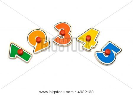 Multi-coloured Figures
