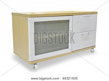 Locker isolated on white