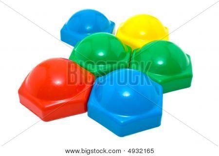 Children's Multi-coloured Figures