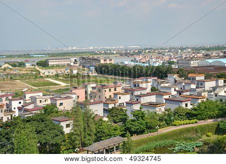 Chinese township scenery