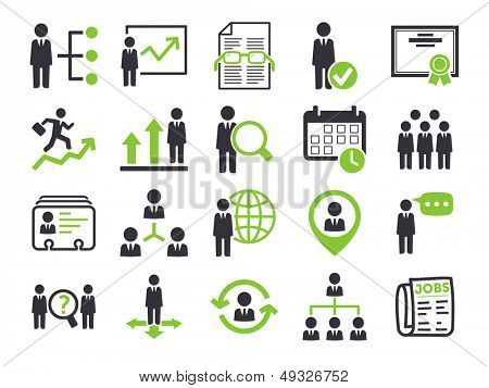 Human resource icons
