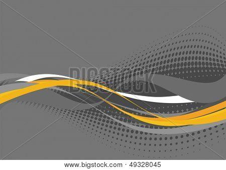 futuristic wave