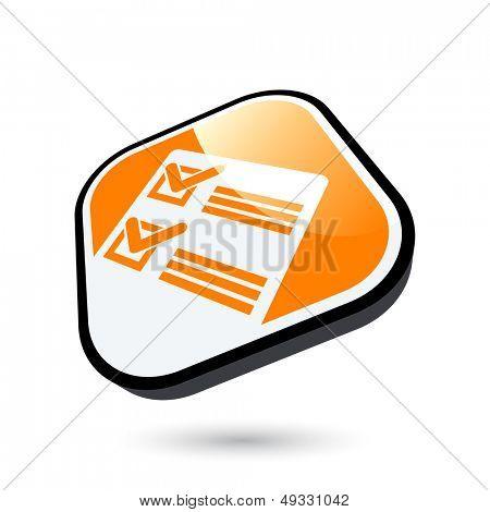 modern check sign