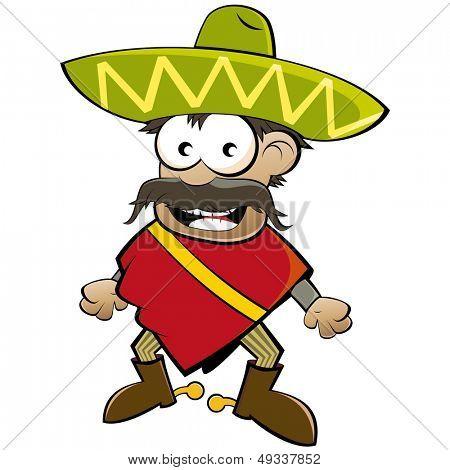 funny cartoon mexican