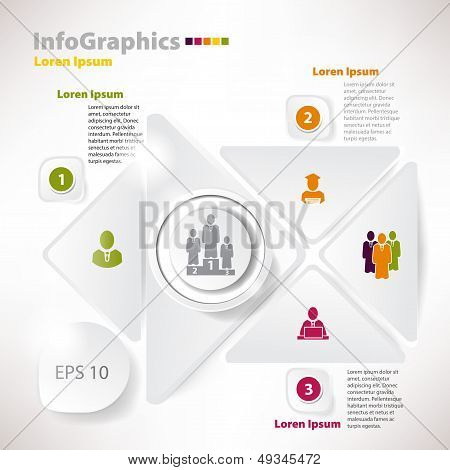 Modern Vector Elements For Infographics For Business Design
