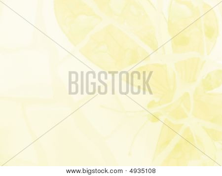 Yellow Butterfly Stationary