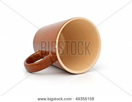 Ceramic Brown Cup