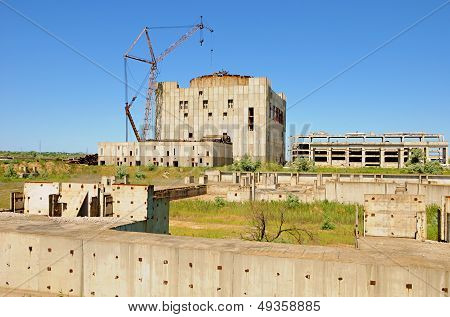 Destroyed Atomic Power Station