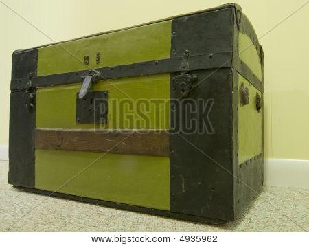 Antique Steamer Trunk