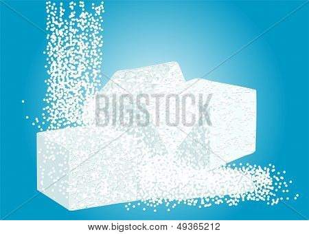 Granulated Sugar And Lump Sugar