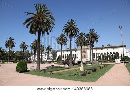 Square In Casablanca, Morocco