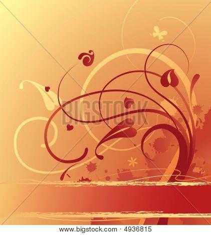 Goldish Background