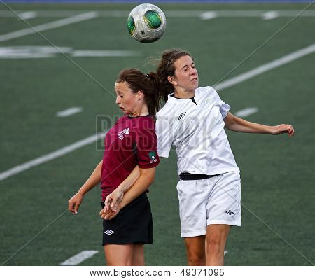 Canada Games Soccer Women Ball Header