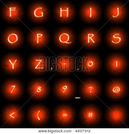 Glow Font 2