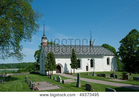 The Church In Dalby, Uppland, Sweden