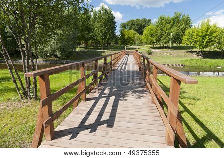 On The New Wooden Bridge