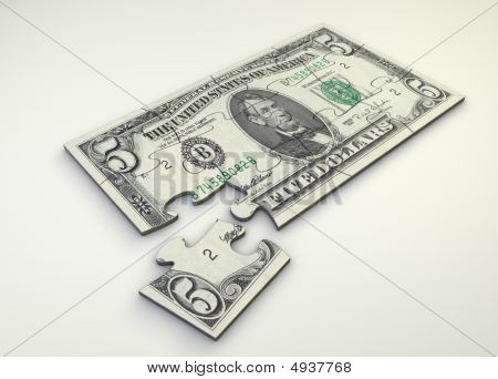 5 Dollar Note Puzzle