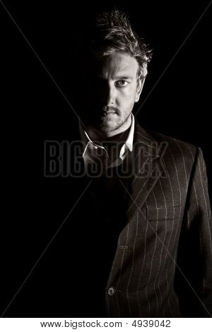 Fashionably Dressed Business Man