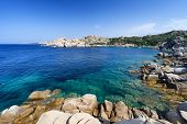 Wonderful Sea In Capo Testa, On North Of Sardinia. Italy
