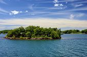 Thousand Islands National Park Ontario Canada Near Kingston Across From New York State