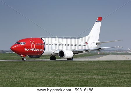 B737 Norwegian