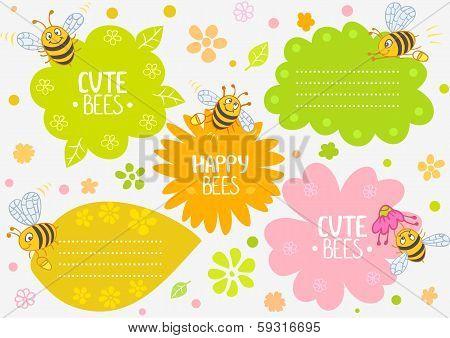 bees cute