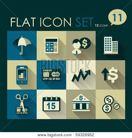 Investing & Finance Icon Set