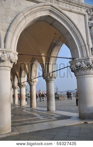 Passage At The Doges Palace