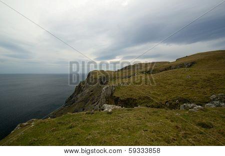 Donegal Ireland Cliffs