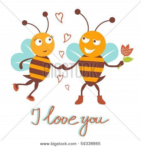 Bees couple