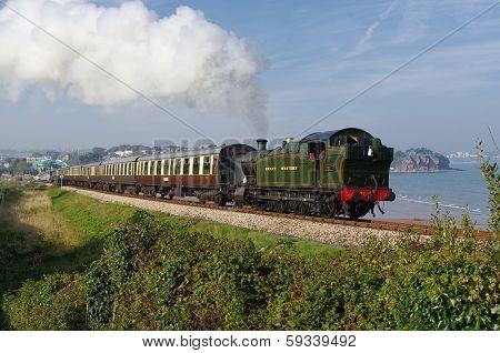 Great Western Steam on the Devon Coast