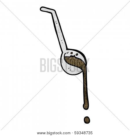cartoon ladle full of gravy