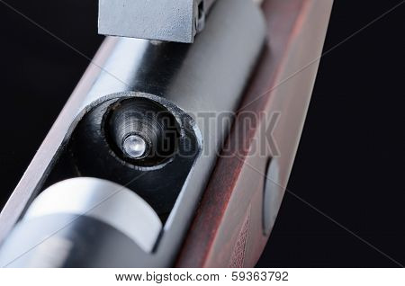 Rifle And  Bullet